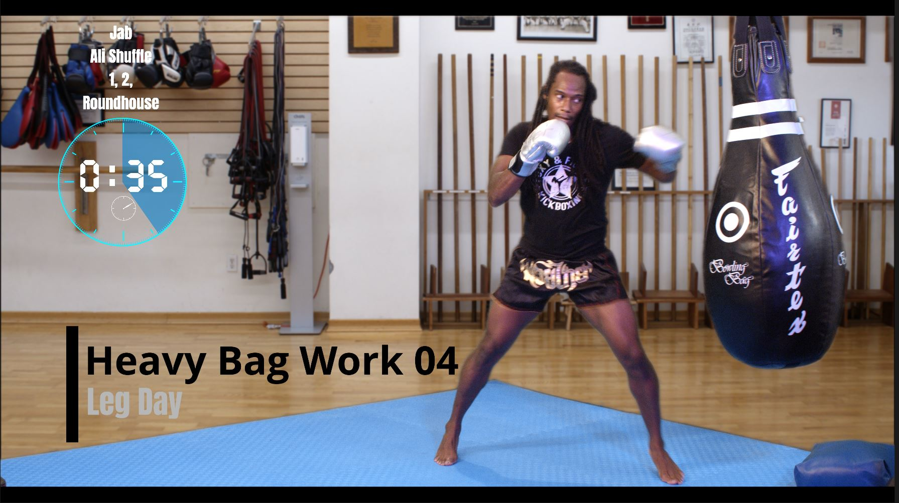 Heavy Bag Work 04 Leg Day